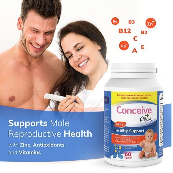 Support male reproductive health zinc antioxidants vitamins