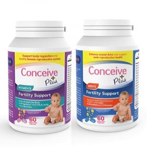 fertility support pills men women combo
