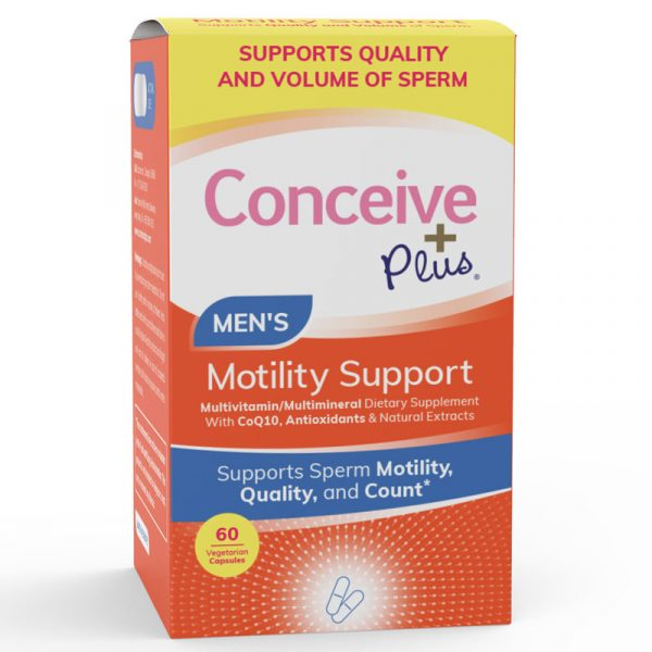 Supports sperm motility quality and count, male fertility supplement capsules